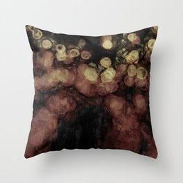 Bokeh repaint Throw Pillow