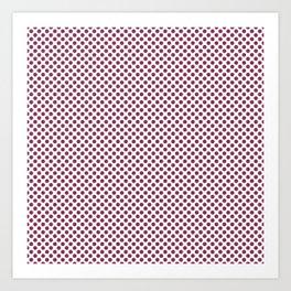 Camelot Polka Dots Art Print