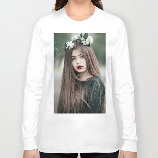 Green eyes Long Sleeve T-shirt