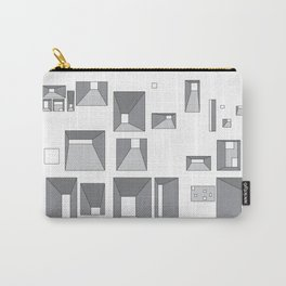 Fenetres Carry-All Pouch