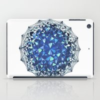 snowflake iPad Cases featuring Snowflake by LDBEAN