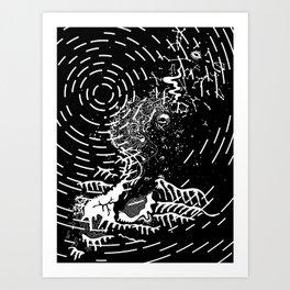 Unawareness Art Print