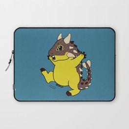 Cute happy Ankylosaurus Laptop Sleeve