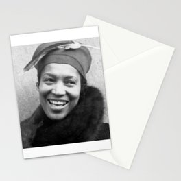 Zora Neale Hurston - BLM - African American Anthropologist Filmmaker Author Society6  44 Stationery Cards