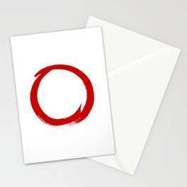 Enso circle 2 Stationery Cards