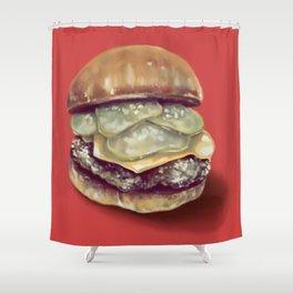 Burgertime! Shower Curtain