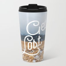 Get Lost Metal Travel Mug