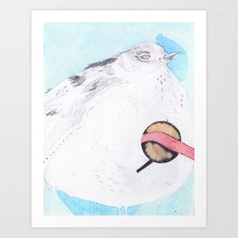 Large Bird Art Print