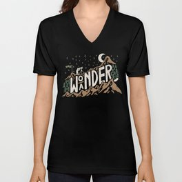 Wo/aNDER Unisex V-Neck