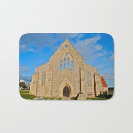 Church with no roof Bath Mat