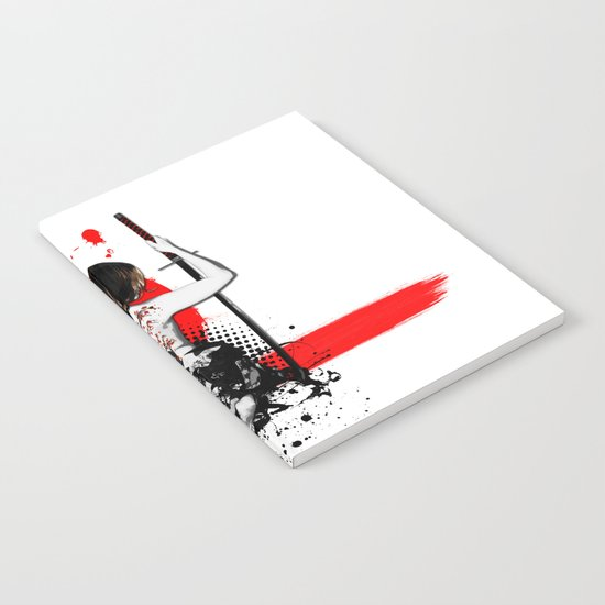 Trash Polka - Female Samurai Notebook