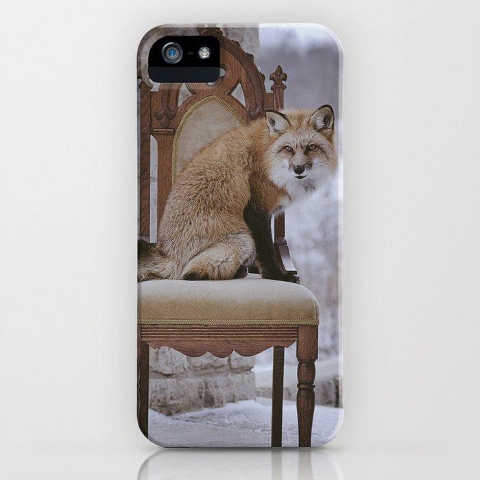 Fox on a Throne iPhone Case