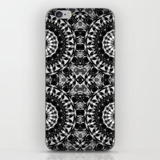 bw mandalas iPhone & iPod Skin
