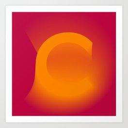 "The "" FADE "" Series - C  Art Print"