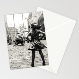 Fearless Girl & Bull NYC Stationery Cards