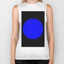 blue hole Biker Tank