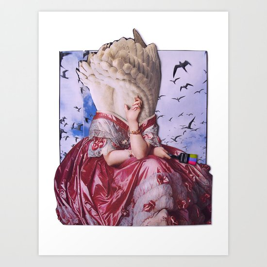 Fortuna | Collage Art Print