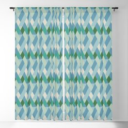 Adelaide Modern Rory in Blue - Blackout Curtain