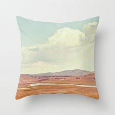Summer Landscape Throw Pillow