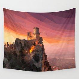 Guaita - San Marino Wall Tapestry