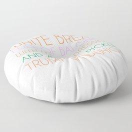 Trump Sandwhich Floor Pillow