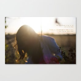 -Well Defined Canvas Print
