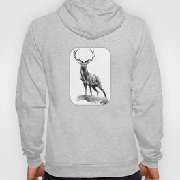 All Muscle - Red Deer Stag Hoody