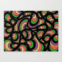 funky Canvas Prints featuring funky by Abstrakt