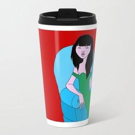 Teresa On Red Travel Mug