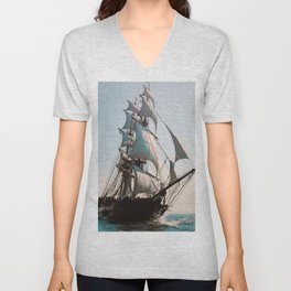 Black Sails Unisex V-Neck