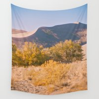 dune Wall Tapestries featuring Autumn Sand Dune by Jessica Torres Photography