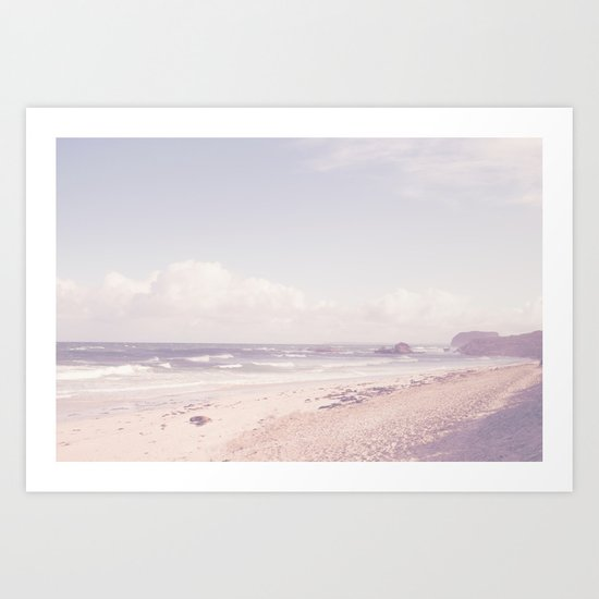 SEAL BEACH Art Print