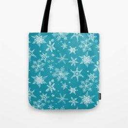 Snow Flakes 05 Tote Bag