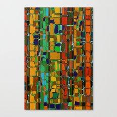 Abstract Geometric Fabric Canvas Print