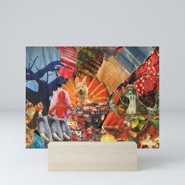 Around the world Mini Art Print