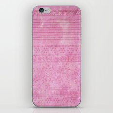 Romantic pink painting iPhone & iPod Skin