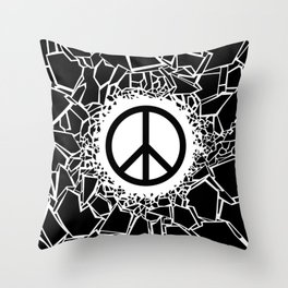 Peacebreaker Throw Pillow
