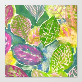 Tropical Print - Summer 2019 Canvas Print