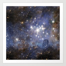Adventures in Time and Space Art Print