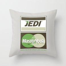 Brand Wars: Jedi Master Yoda Throw Pillow