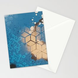 Cube Familiar Place - Made With Unicorn Dust by Natasha Dahdaleh Stationery Cards