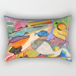Aquarium Fish Rectangular Pillow
