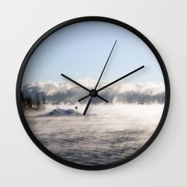 -19 degrees Celsius Wall Clock