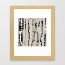 Shadow Branches Framed Art Print