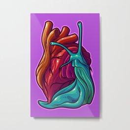 Cardio Gastropod Metal Print