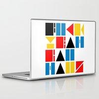 bauhaus Laptop & iPad Skins featuring Fuck Yeah Bauhaus! by Picomodi