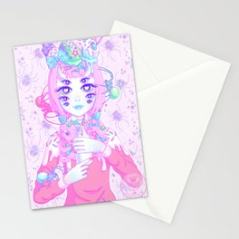 MISS MUFFET (re-edit) Stationery Cards