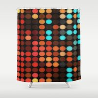 disco Shower Curtains featuring Disco by DuckyB