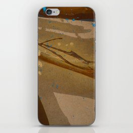 joelarmstrong_rust&gold_073 iPhone Skin