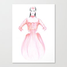 Clara Canvas Print